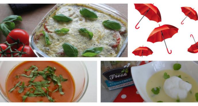 Code rood; stormachtig lekker menu voor foute zomerdagen