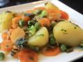 Gedoemsel, stoofpot van verse groenten uit de tuin