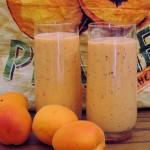 Perzik abrikoos smoothie
