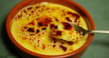 Crème brulée met marsepein