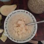 Ouderwetse havermout; een traditioneel hip ontbijt