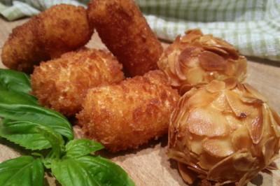 zelfgemaakte aardappelkroketjes