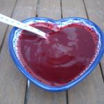 Gladde cranberrysaus – ook als jam te gebruiken