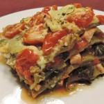 Groene lasagne; Van top tot teen gezond