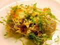 Flower sprouts, bloemspruitjes met kippengehaktballen